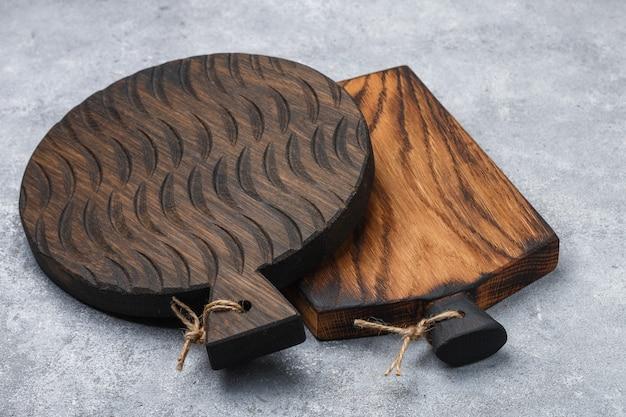 Tábua de corte em madeira natural