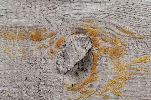 Tábua de madeira leve com danos naturais.