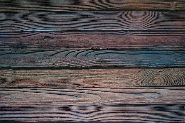 Tábuas de fundo de madeira, pintadas em cores diferentes