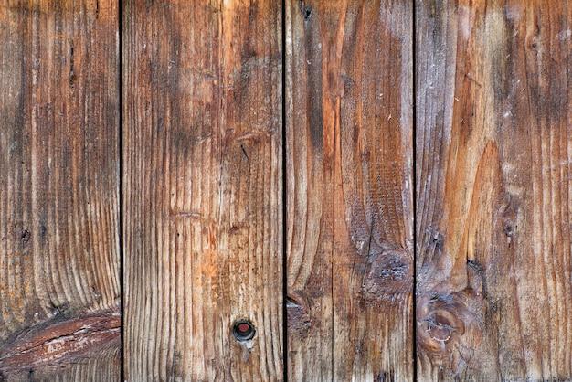 Tábuas de madeira velhas marrons