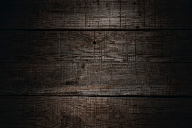 Tábuas rústicas de madeira marrom