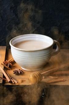 Taça de masala chai