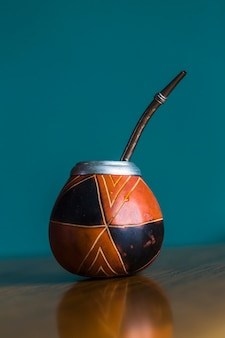 Taça tradicional para chá mate