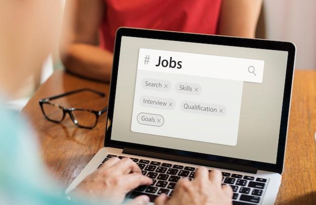 Tags de motor de pesquisa de recrutamento de emprego