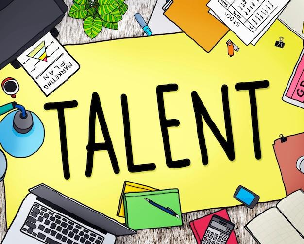Talento superdotado habilidades habilidades capabilidade conceito de experiência