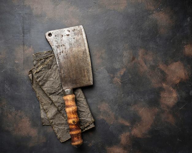 Talhador vintage para carne