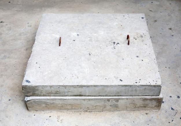 Tampa de bueiro de esgoto de concreto