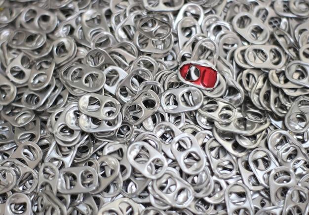 Tampas de lata de alumínio