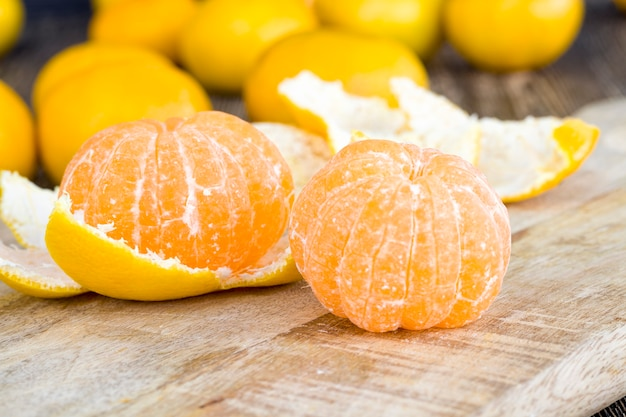 Tangerinas laranja