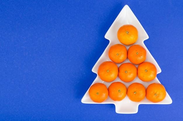 Tangerinas suculentas laranja brilhantes