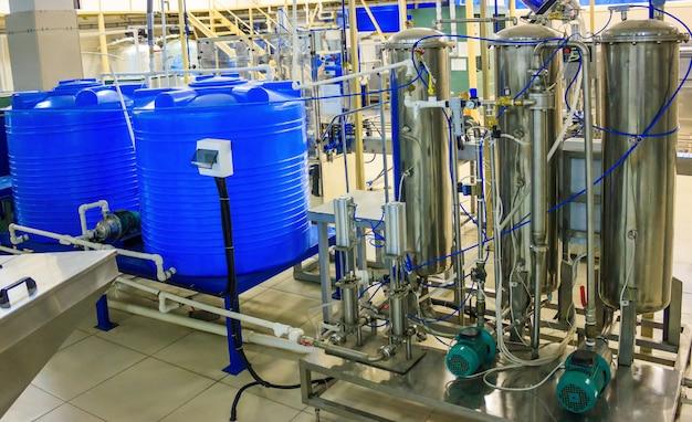 Tanque de mistura e carbonatador misturador