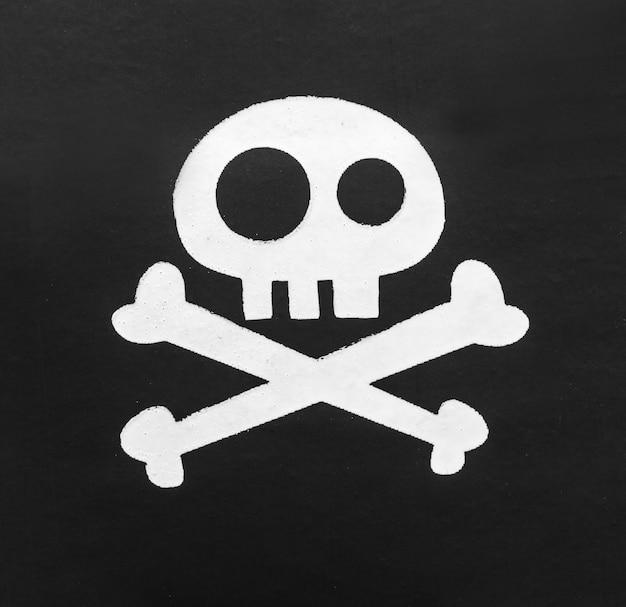 Tapa-olho de pirata em branco