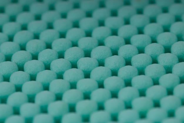 Tapete de borracha antiderrapante azul de textura