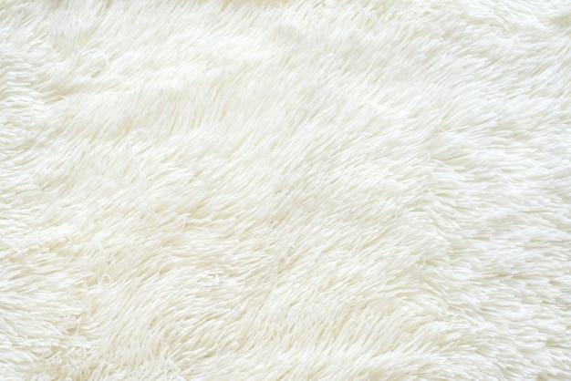 Tapete de manta de fibra de pele sintética com textura