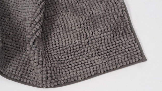 Tapete ou tapete de textura e fundo com enrugado. é de cor cinza