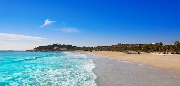 Tarragona platja de l'arrabassada catalunha