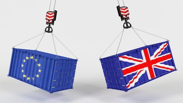 Tarrifs de importação do comércio do reino unido
