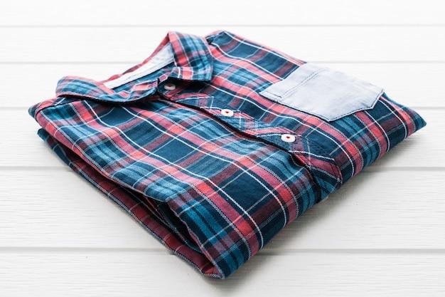 Tartan ou camisa xadrez