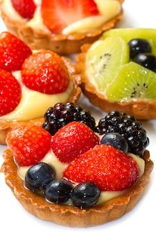 Tarte de frutas frescas