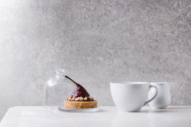 Tartlet doce com café