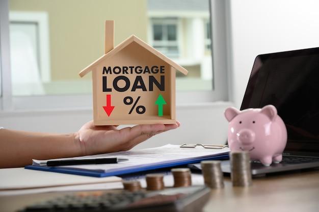 Taxas de hipoteca dinheiro de empréstimo