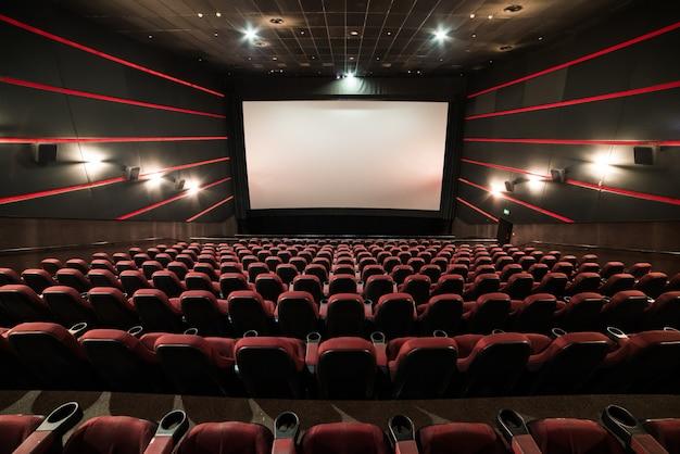 Teatro de cinema antes da apresentação