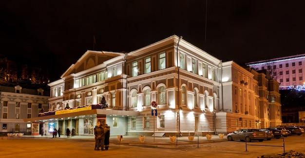 Teatro de drama ivan franko em kiev, ucrânia
