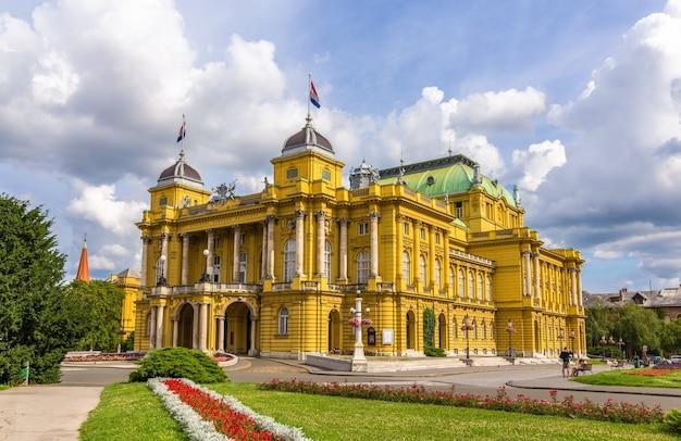Teatro nacional croata em zagreb