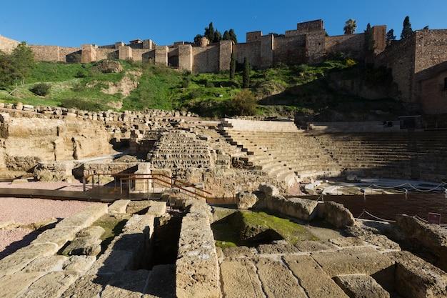 Teatro romano antigo em málaga
