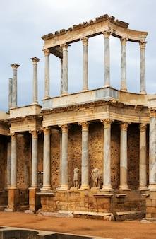 Teatro romano antigo em mérida Foto Premium