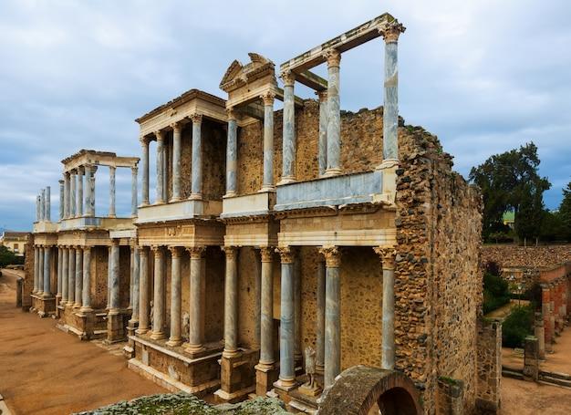 Teatro romano antigo. merida