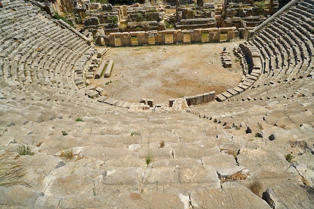 Teatro romano visto de cima
