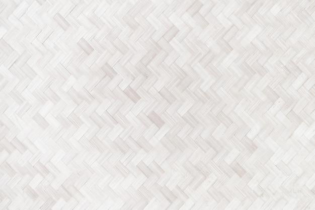 Tecelagem de bambu, fim acima da textura de tecelagem de bambu.
