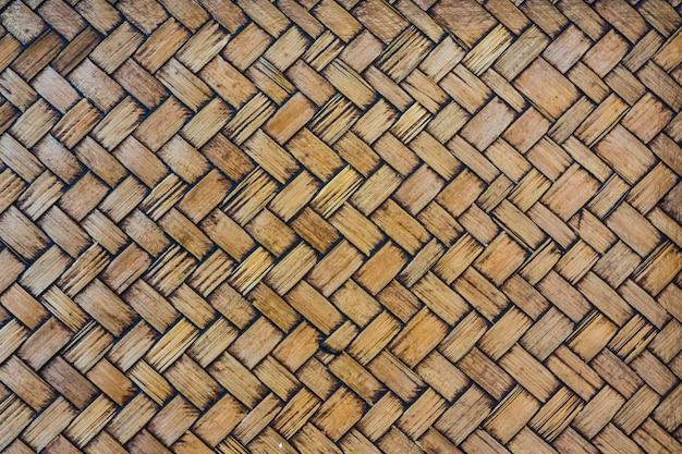 Tecelagem de bambu