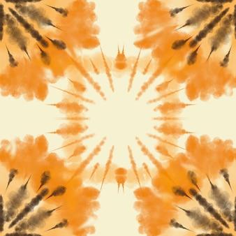 Tecido artístico tie dye listrado padrão fundo tinta bohemian spiral