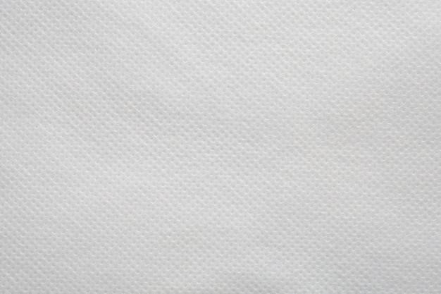 Tecido branco pano de fundo padrão de textura