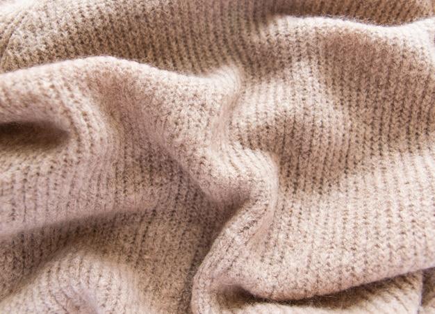 Tecido da textura de brown ou matéria têxtil de pano.