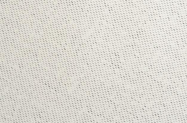 Tecido de algodão branco com listras diagonais