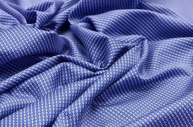 Tecido de algodão com motivos