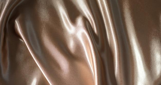 Tecido de fundo bege ondulado de seda