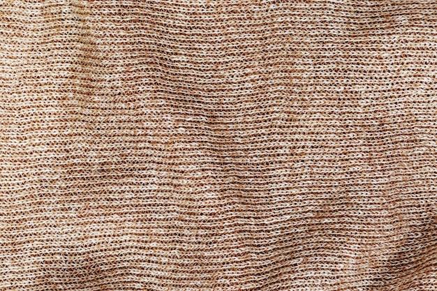 Tecido de lã close-up