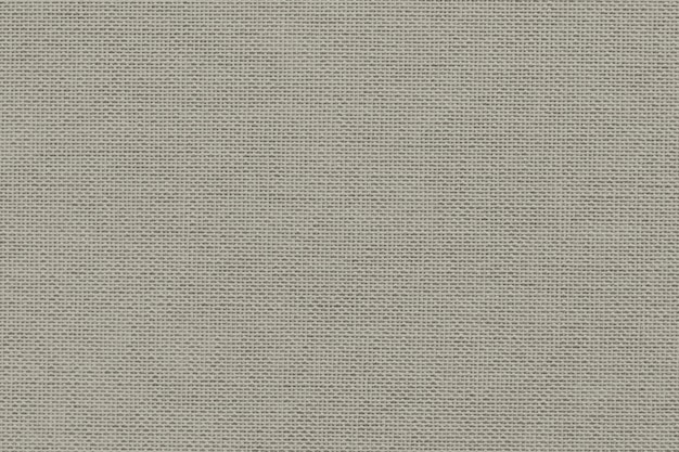 Tecido de lona bege com textura têxtil