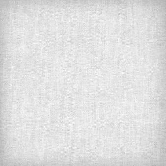 Tecido de lona com textura ou fundo branco