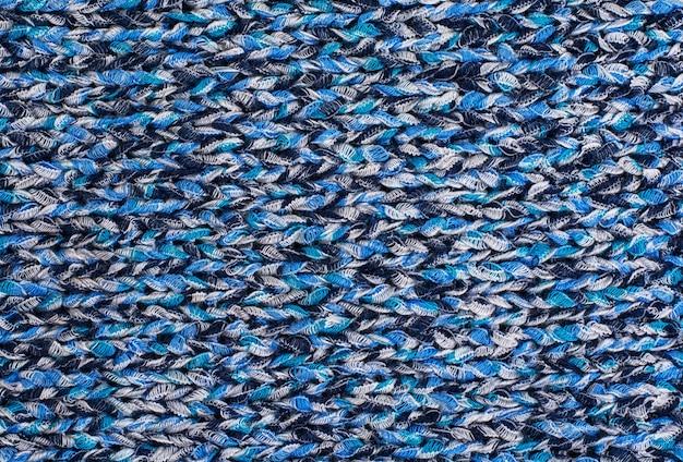 Tecido de malha de lã de textura