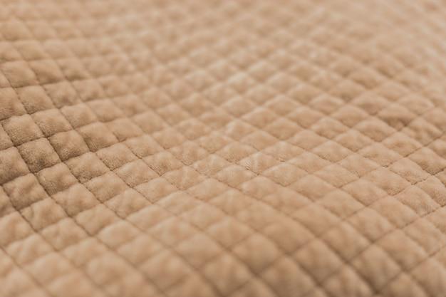 Tecido de pelúcia bege