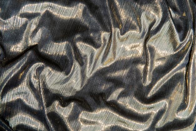 Tecido de prata brilhante texturizado fundo
