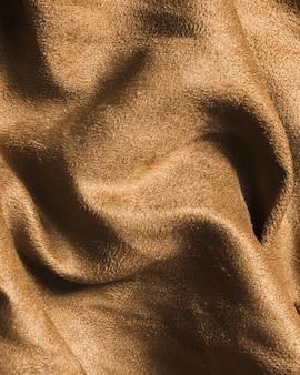 Tecido de seda areia material marrom para decoração de casa
