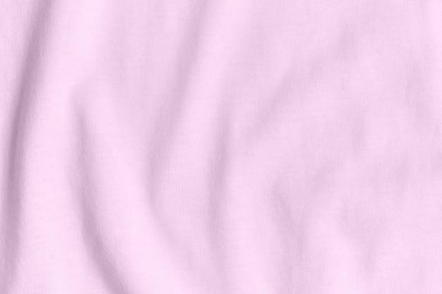 Tecido de seda de cor rosa como plano de fundo e textura