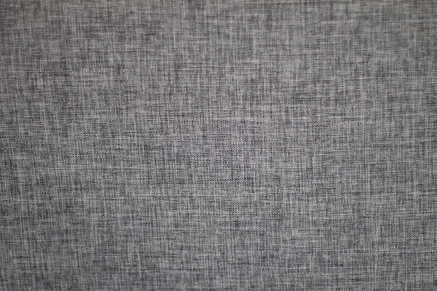 Tecido de sofá de lona ou plano de fundo texturizado cinza