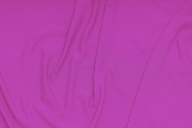 Tecido ondulado de tecido rosa